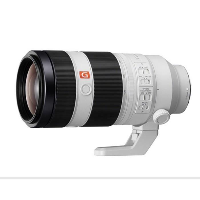 OBJECTIF Sony FE 100-400mm F4.5-5.6 GM OSS objectif