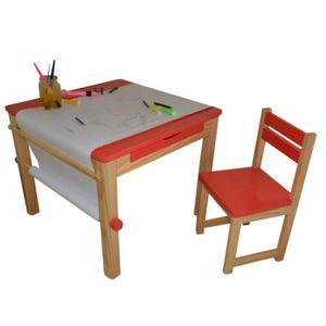 tour de lit bb ensemble table et 1 chaise pour enfant en bois col - Chaise Et Table Enfant