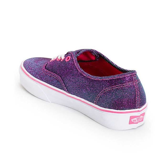 Chaussures Vans Authentic magenta Casual femme IzWV3
