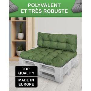 coussin palette achat vente coussin palette pas cher cdiscount. Black Bedroom Furniture Sets. Home Design Ideas