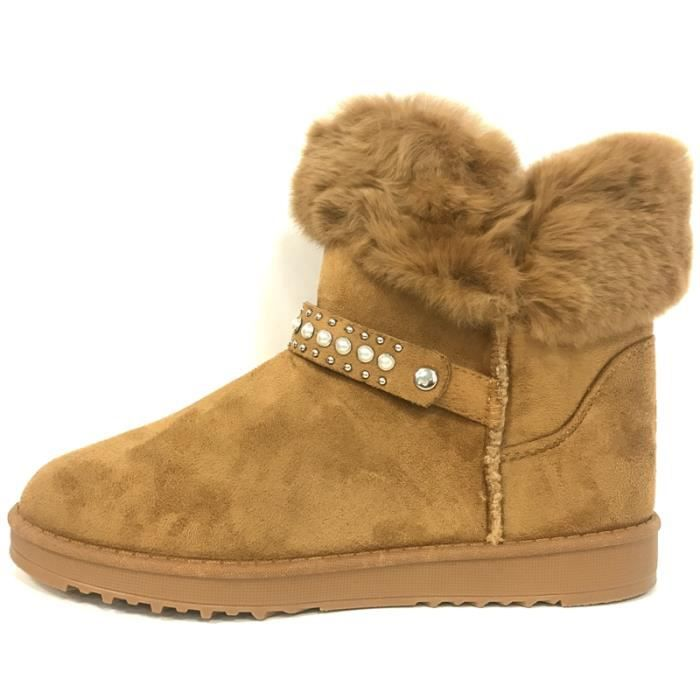 Boots, Bottines Nice Shoes Boots Camel KB-032