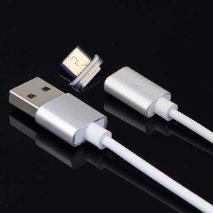 CÂBLE TÉLÉPHONE LED Portable USB Câble Magnétique Adaptateur de Ch