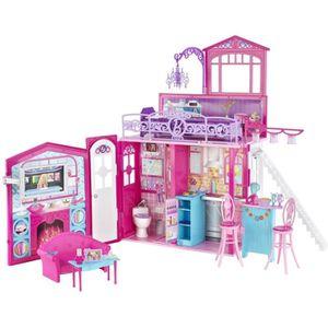 POUPÉE Barbie-Mattel - R4186 - Maisons de poupées - Barbi