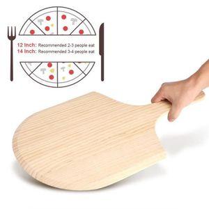 PALETTE - CORNE  Pelle à Pizza en Bois avec Poignée Plaque de Tarte