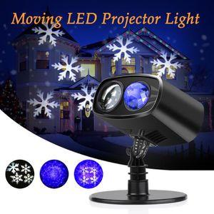 PROJECTEUR LASER NOËL Laser projecteur extérieur lumière lampe éclairage