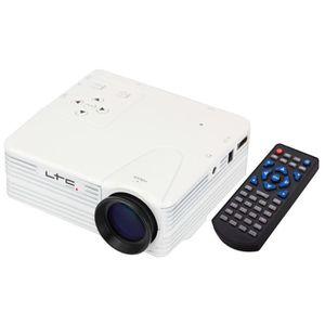 Vidéoprojecteur LTC VP60 MINI PROJECTEUR A LED USB SD HDMI