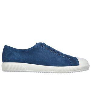 BASKET Chaussures baskets sneakers homme en daim Prada