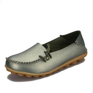 Loafer Femmes cuir Nouvelle Mode Loafers De Marque De Luxe Chaussure Grande Taille sztY2oY0JA