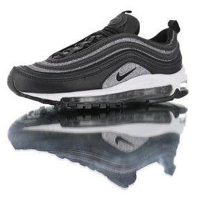 """BASKET Nike WMNS Air Max 97 Premium""""Glitter Black"""", Chaus"""