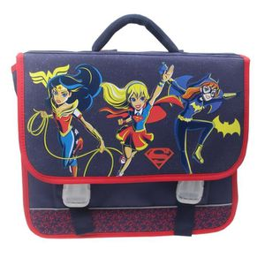 CARTABLE SUPER HERO GIRLS Cartable 2 compartiments - Primai