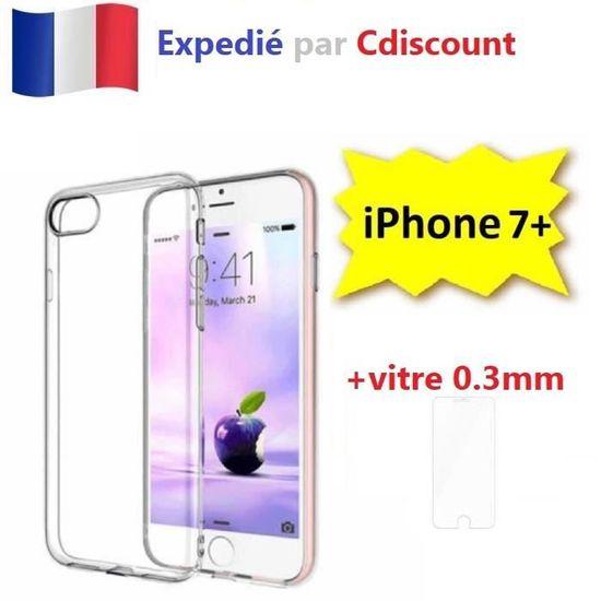 coque iphone 7 et vitre