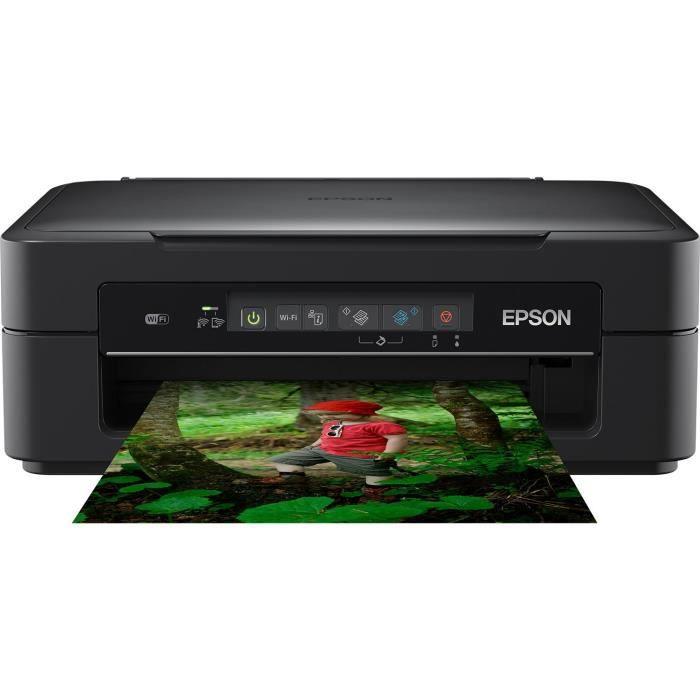 EPSON Imprimante Expression XP-255 - multifonctions - 3 en 1 - jet d'encre - couleur - ultra compact - Wifi - encre Claria Home