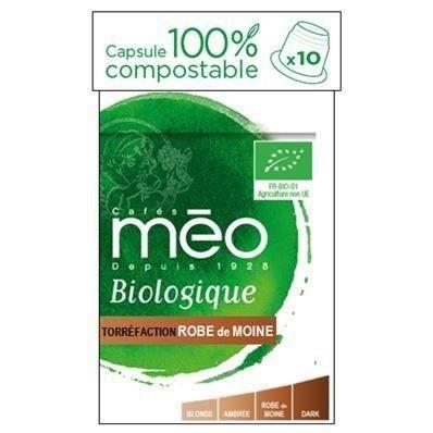 MAX HAVELAAR Café Moine Bio - 10 capsules - 53g
