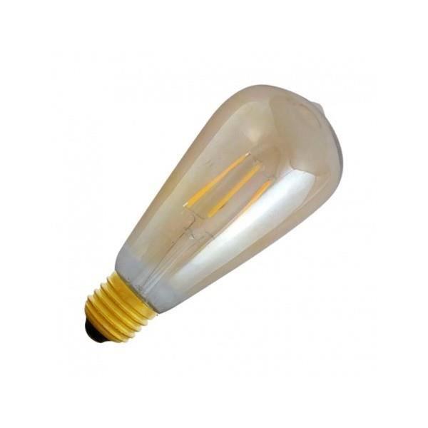 AMPOULE - LED Ampoule LED E27 ST64 Filament 8W 4000°K