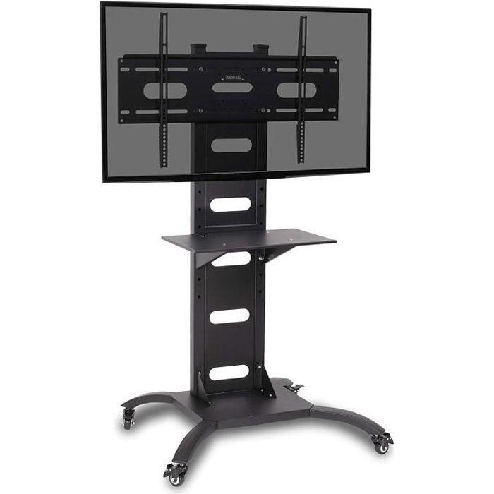 duronic tvs4t1 meuble tv de type chariot roulettes pour salle de conf rence avec support d. Black Bedroom Furniture Sets. Home Design Ideas
