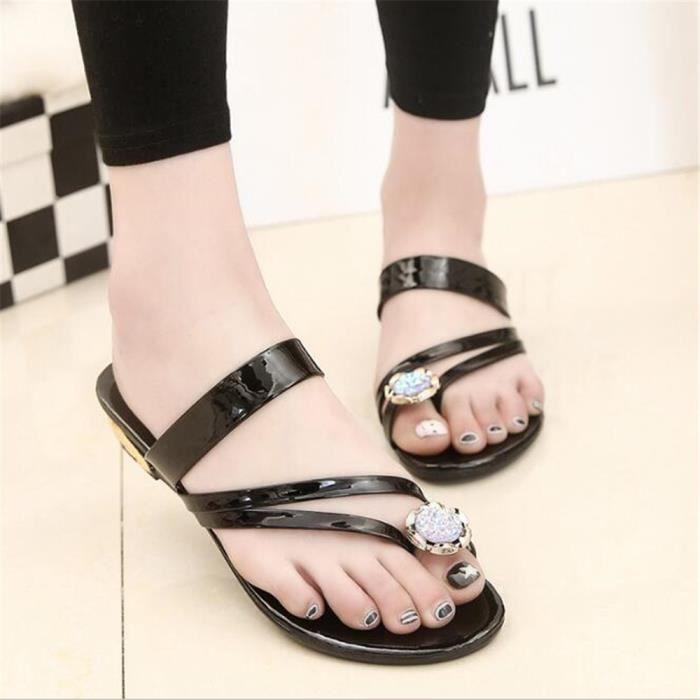 Été Arrivee D'été Nouvelle Classique Sandale Taille 35 40 Respirant Grande Antidérapant Femmes O0PmwyvNn8