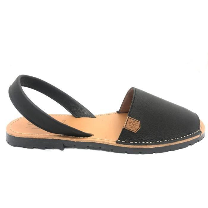 Sandales, nu-pieds POPA California Black Sauvage 8006