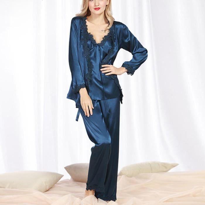 1304ed24e5010 Pyjama 3 pieces femme - Achat / Vente pas cher