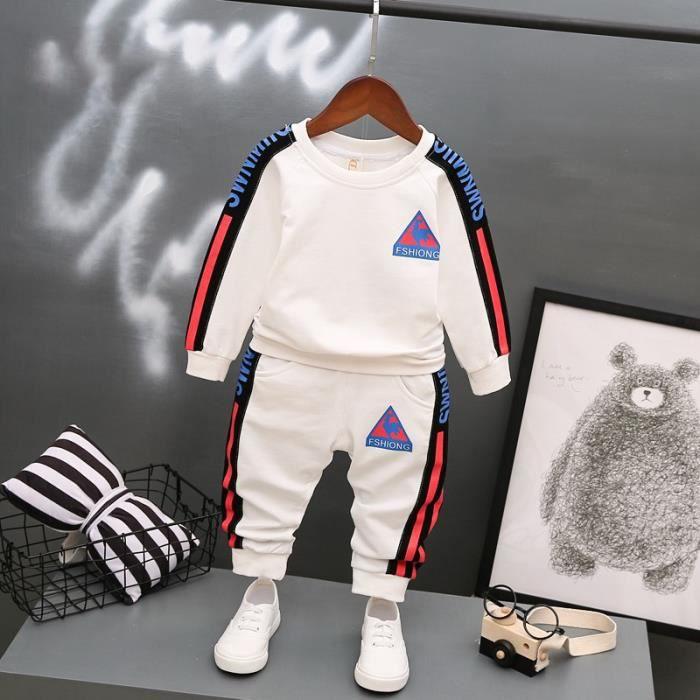 9ae5995b0c498 Vêtements de sport Bébé Automne ensemble de vetements Mode Mixte Enfant