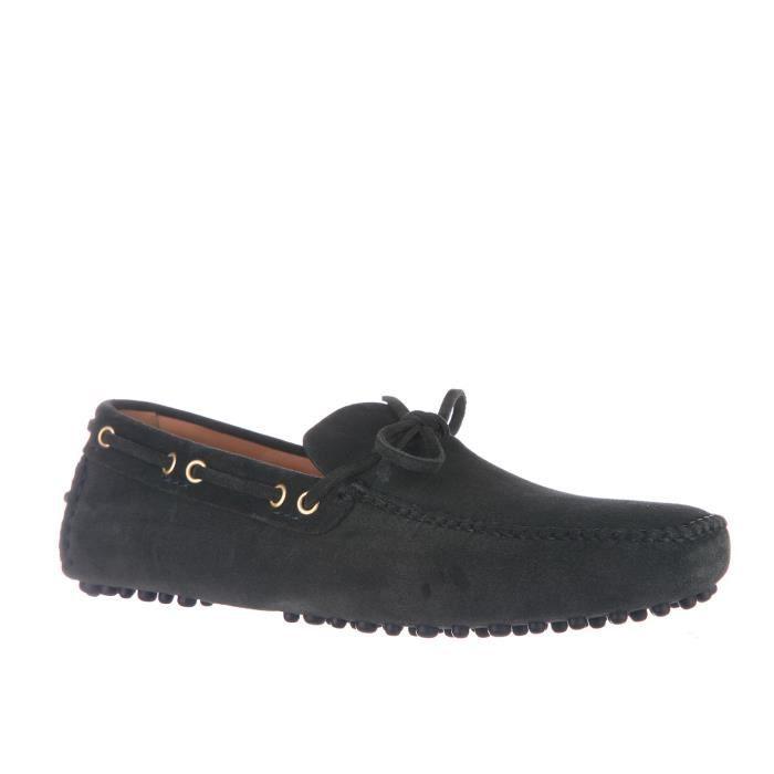 Mocassins homme en daim Car Shoe X18DO