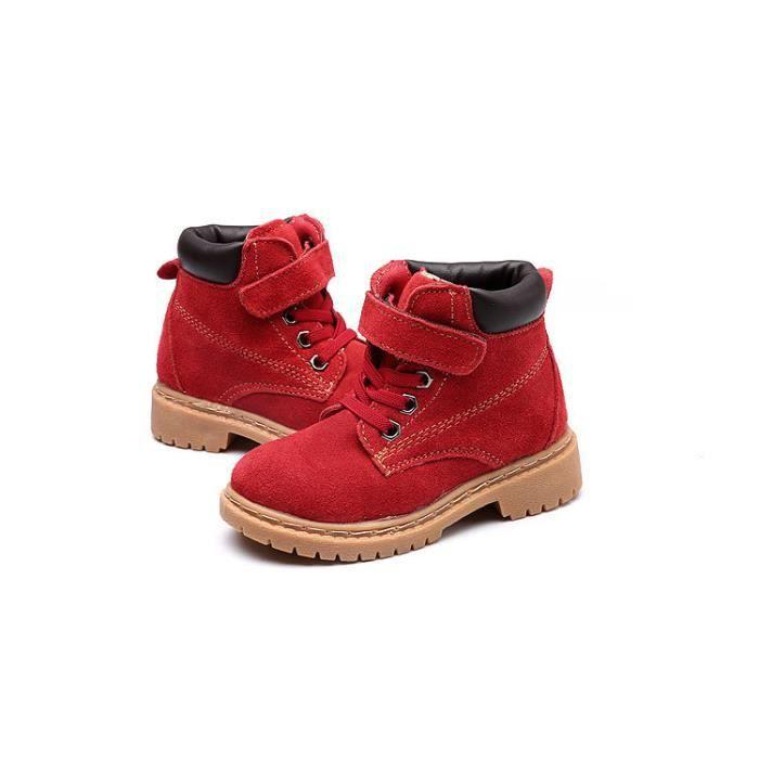 Bottes Enfant plus chaussures de neige bottes de neige chaussures de coton chaud AcsFUGUI