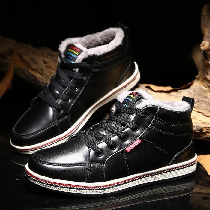 Bottes velours en que ainsi de coton d'hiver neige hommes hommes pour des bottes chaud chaussures rFr7vq