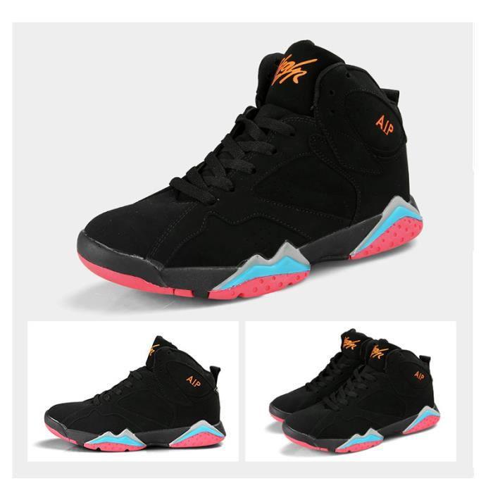 JOZSI Baskets Homme Chaussure été et hiver Jogging Sport léger Respirant Chaussures HZ-XZ220Noir39 qFvb9Rnbg6