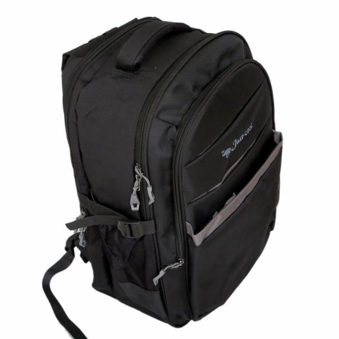 Hommes 30 Ltrs College Sac, Sac pour ordinateur portable, Daypack Backapack (noir) occasionnel -ki19081 BKSTJ