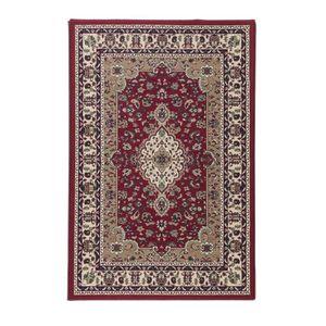 LUXUS Tapis de salon oriental rouge 160x225 cm