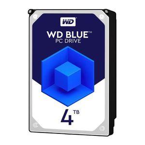 DISQUE DUR INTERNE WD Blue 4To 64Mo 3.5    WD40EZRZ