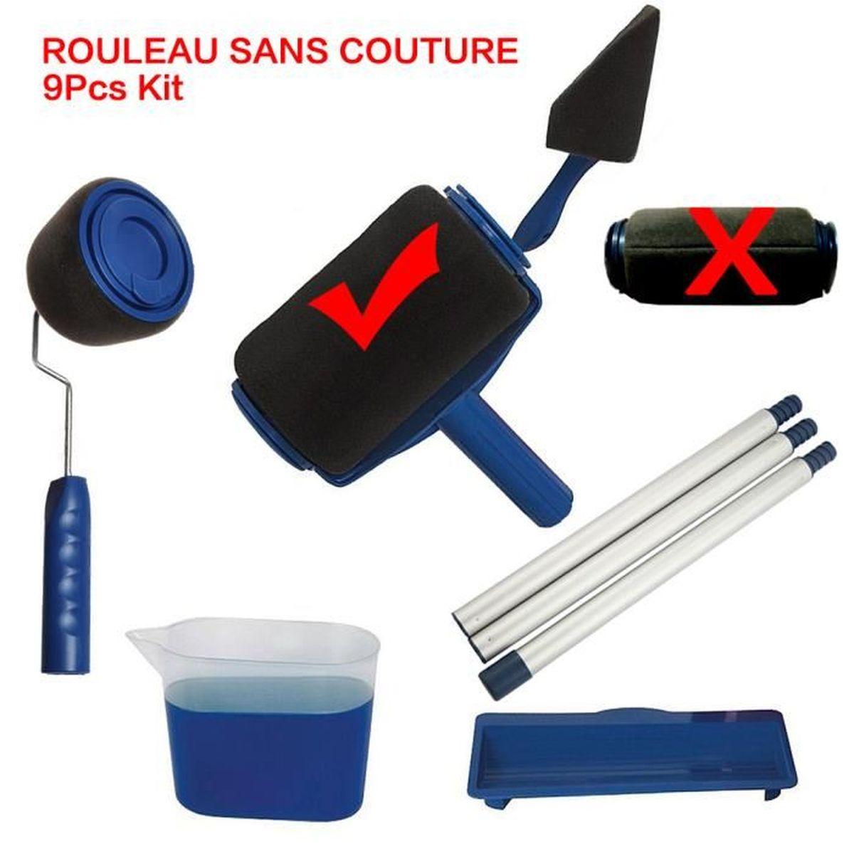 ROULEAU DE PEINTURE Rouleau Peinture Avec Reservoir, Sans Couture Anti