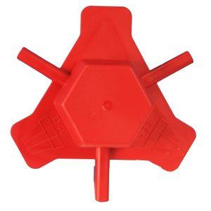 RIVIERA Kit assemblage en plastique ?50cm - Rouge