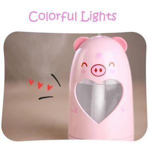 HUMIDIFICATEUR ÉLECT. Lampe LED Humidificateur animal mignon humidificat