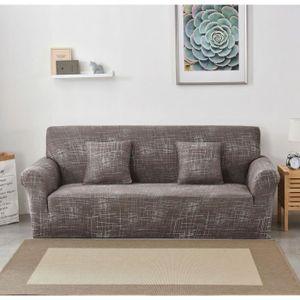 HOUSSE DE CANAPE Housse de canapé, 3 places 190-230cm, extensible c