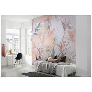 PAPIER PEINT Papier peint intissé Tropical Concrete 254 x 368 c