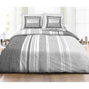 parure de draps 140x200 achat vente parure de draps 140x200 pas cher cdiscount. Black Bedroom Furniture Sets. Home Design Ideas