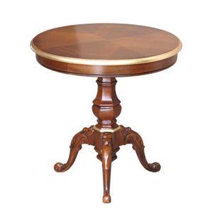 TABLE BASSE Table de thé ronde 60 cm
