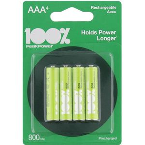 PILES 4 piles rechargeables BATTERIES ACCU LR06 AAA 800