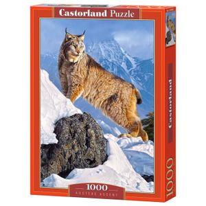 PUZZLE Puzzle 1000 pièces : Lynx aille Unique Coloris Uni