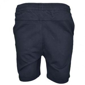8bba70e0a11e SHORT Short molleton Calvin Klein noir pour homme - Tail