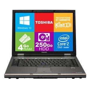 ORDINATEUR PORTABLE ordinateur portable 15 pouces TOSHIBA TECRA A9 cor