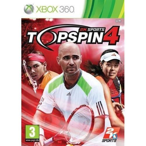 JEUX XBOX 360 TOP SPIN 4 / Jeu console X360