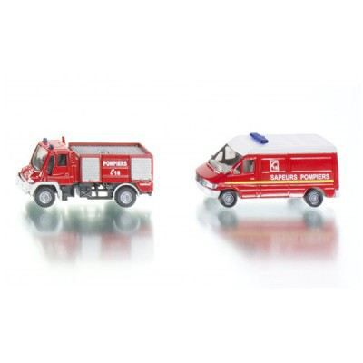 SIKU Set Pompiers - Véhicule Miniature