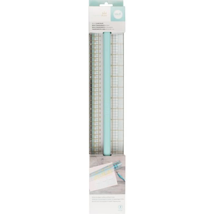 OUTIL SCRAPBOOKING Ruler Supreme We R Memory Keepers