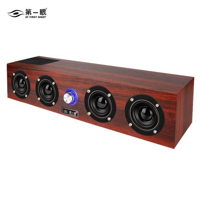 Stéréo Surround Portable Audio Sans Fil Bluetooth Haut-parleur Pour Smartphone Tablet @zo3087