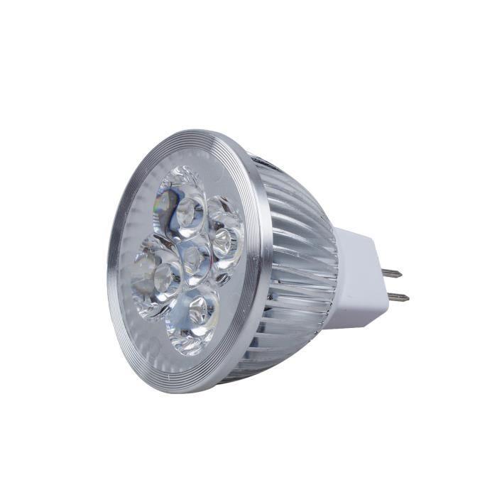 4w Lumiere 50 Equivalent3200k 45 Faisceau Degres Ampoule Led De Angle Mr16 Lumen Watt 12v340 iPXukZ