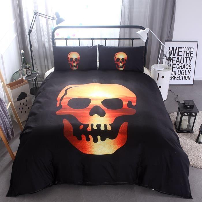 housse de couette microfibre polyester. Black Bedroom Furniture Sets. Home Design Ideas