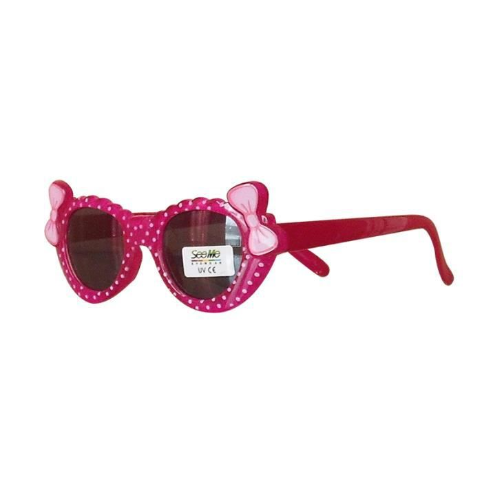 Lunettes de soleil à pois enfant fille bébé - Achat   Vente lunettes ... 03e5aa4b1ad9