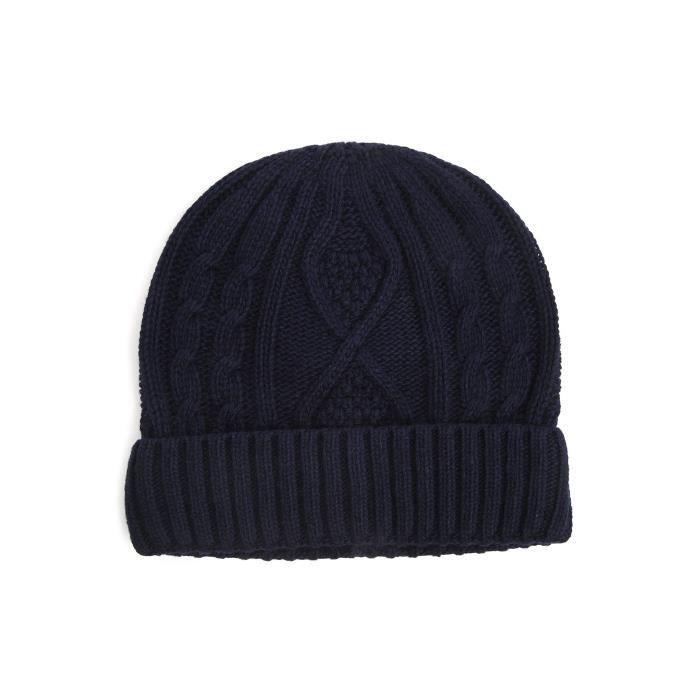 paquet à la mode et attrayant 50-70% de réduction livraison gratuite Bonnet SCOTT navy pour homme - Achat / Vente bonnet ...