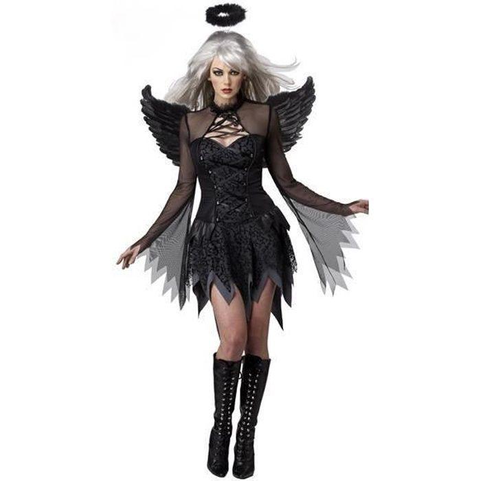 déguisement halloween demon -ange de nuit- femme m - achat / vente